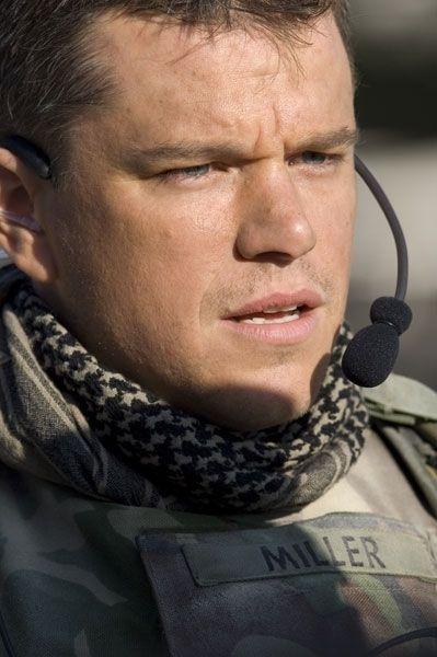 Matt Damon stars as Roy Miller / Green Zone