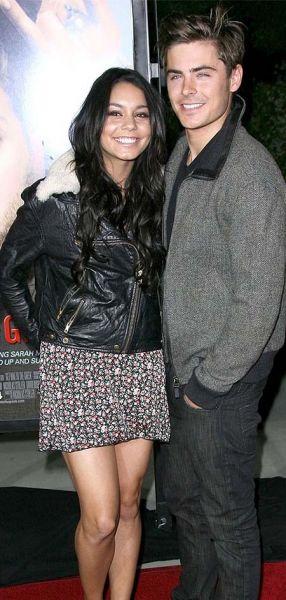 Zac Efron mit Vanessa Hudgens
