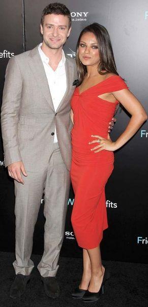 Justin Timberlake mit Mila Kunis