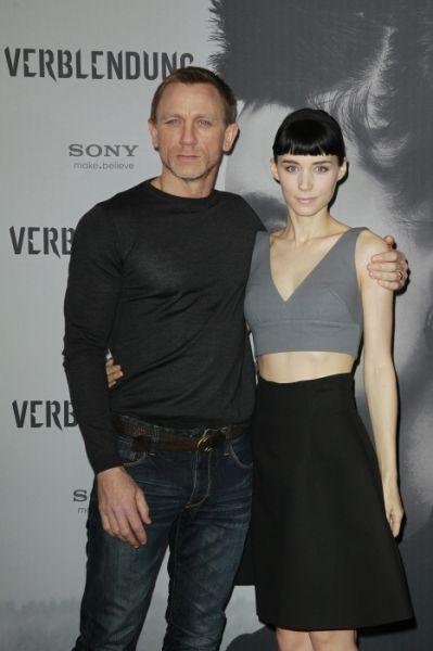 Verblendung - Daniel Craig und Rooney Mara