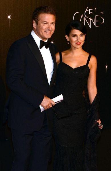 Alec Baldwin mit Hilaria Thomas