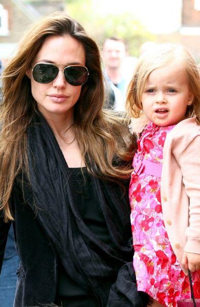 Angelina Jolie mit ihrer Tochter Vivienne