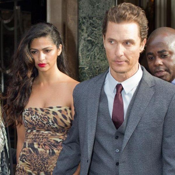 Camila Alves mit Matthew McConaughey
