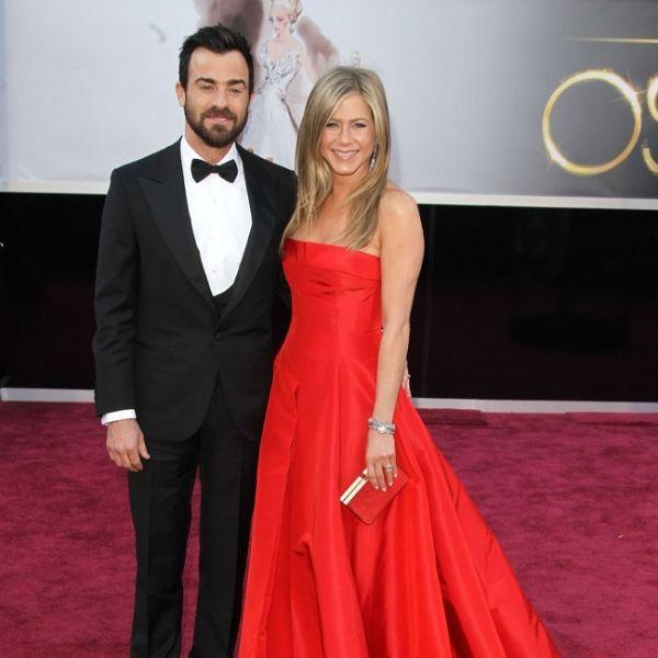 Jennifer Aniston mit Justin Theroux