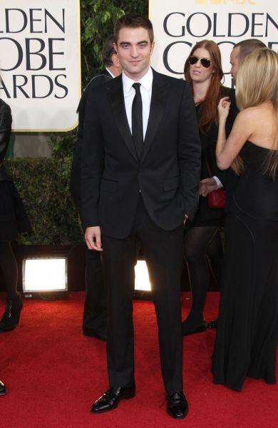 Robert Pattinson bei den Golden Globes 2013