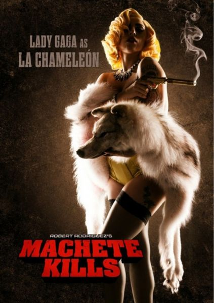 Machete Kills - Poster - Lada Gaga ### Universum Film
