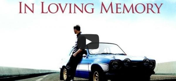 Paul Walker Video-Tribut