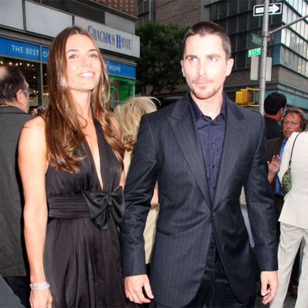 Christian Bale mit Sibi Blazic