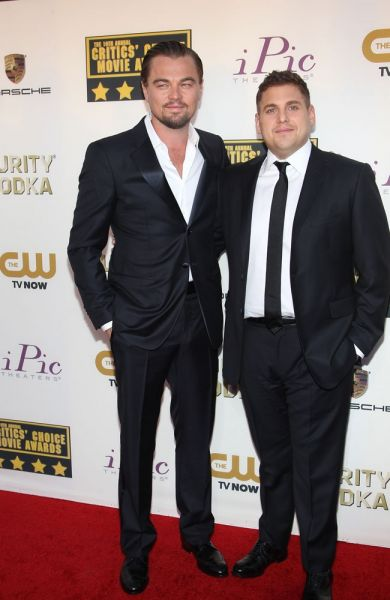 Leonardo DiCaprio und Jonah Hill
