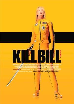 Kill Bill: Volume 1 - Filmplakat  Buena Vista