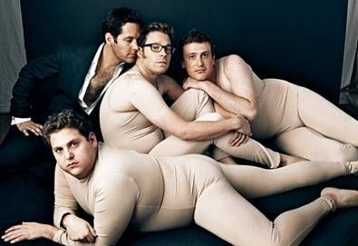 Seth Rogen, Jonah Hill, Jason Segel und Paul Rudd
