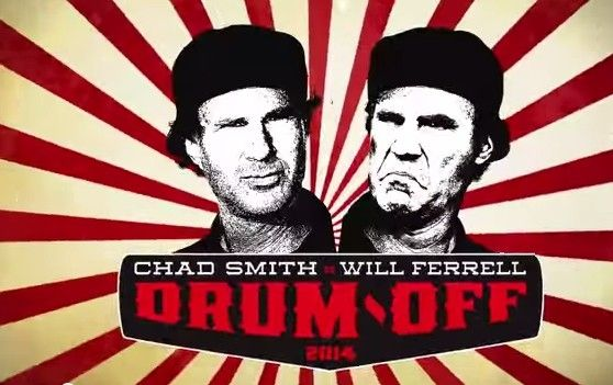 Will Ferrell and Chad Smith Drum-Off