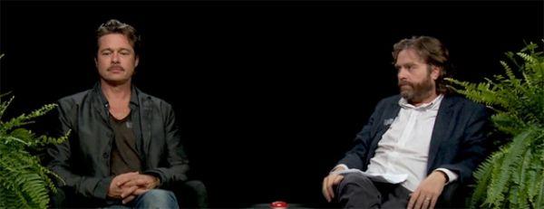 Brad Pitt und Zach Galifianakis