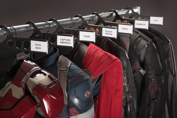 Marvel-Superhelden warten auf ihren Einsatz