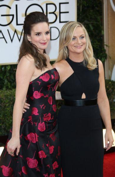 Tina Fey mit Amy Poehler, Golden Globes 2014