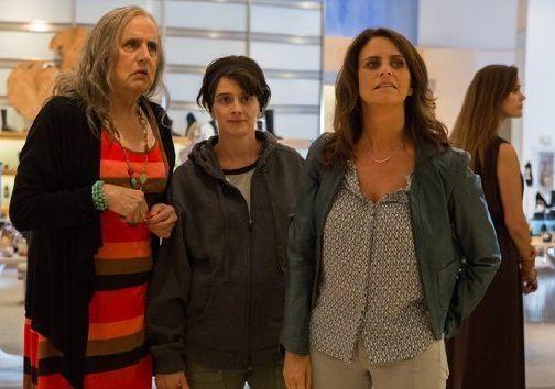 Jeffrey Tambor, Gaby Hoffman und Amy Landecker in der...rent'