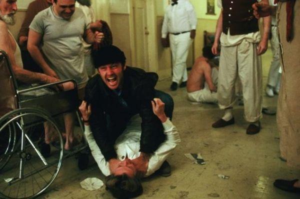 Jack Nicholson in 'Einer flog über das Kuckucksnest'
