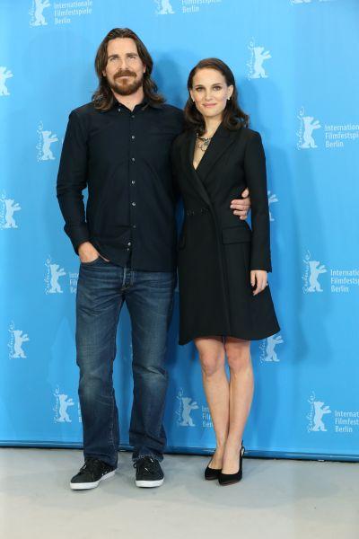 Christian Bale und Natalie Portman auf der Berlinale