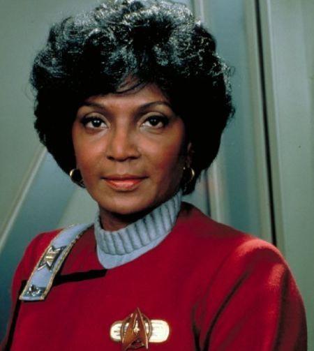 Nichelle Nichols als Lieutenant Uhura in Star Trek