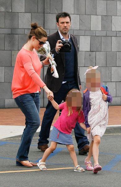 Ben Affleck, Jennifer Garner und ihre Töchter
