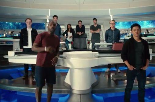 Die Star Trek-Crew lädt Fans auf die Enterprise ein