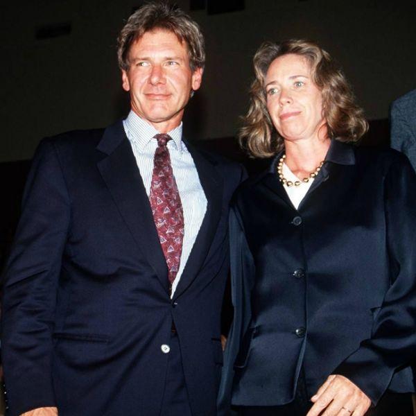 Harrison Ford und Melissa Mathison