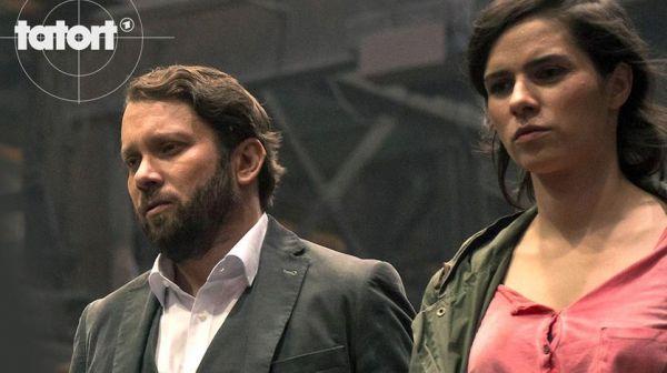 Christian Ulmen und Nora Tschirner im TATORT Der treue Roy