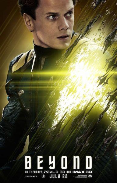 Anton Yelchin in Star Trek: Beyond