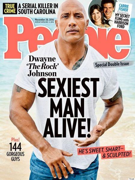 Dwayne Johnson auf dem Cover von People