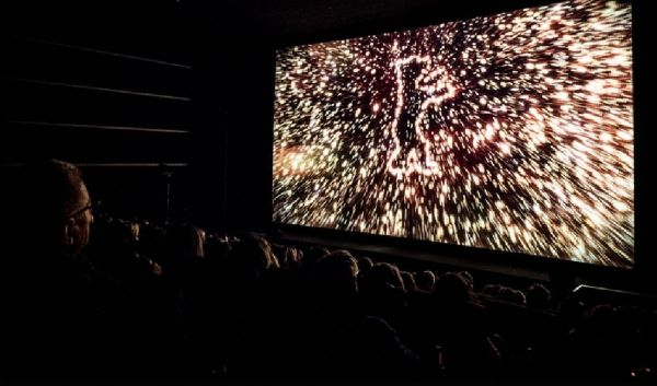 Berlinale-Trailer im Berlinale-Palast