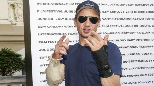 Jeremy Renner auf dem Karlovy Vary Film Festival