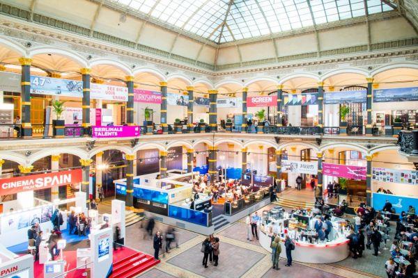 Berlinale European Film Market Lichthof