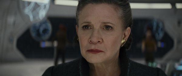 Star Wars: Die letzten Jedi mit Carrie Fisher