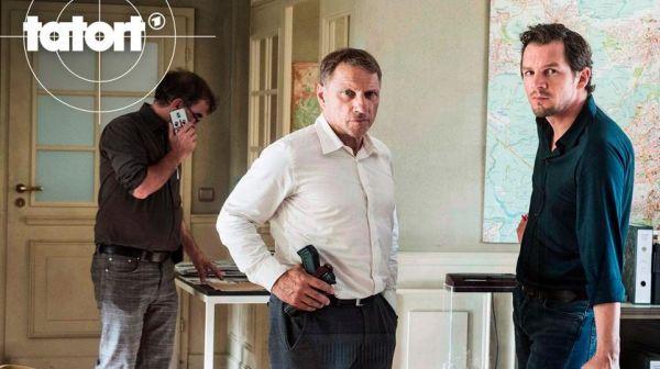 TATORT Der Mann, der lügt - Richy Müller und Felix Klare