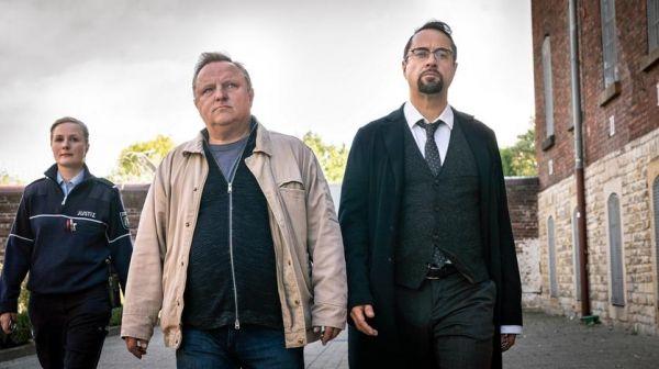 TATORT Spieglein, Spieglein - Axel Prahl und Jan...efers