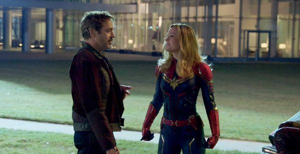 Avengers Endgame - Robert Downey Jr. und Brie Larson