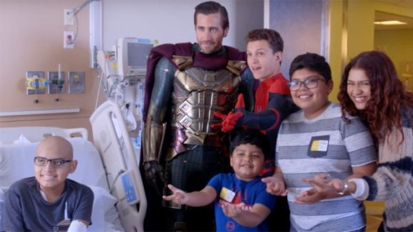 Am Krankenbett: Jake Gyllenhaal, Tom Holland und Zendaya