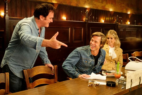 Once Upon a Time in Hollywood - Regisseur Quentin...m Set