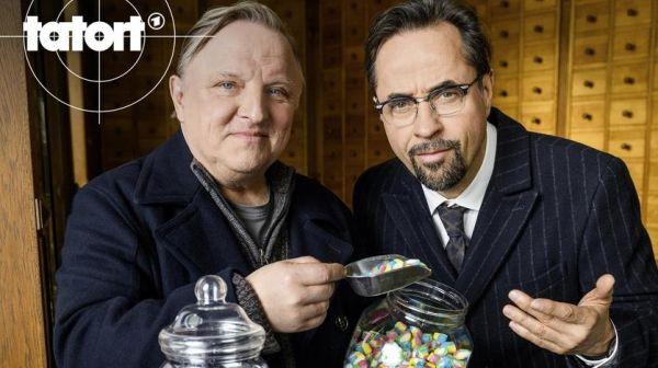 TATORT Lakritz - Axel Prahl und Jan Josef Liefers
