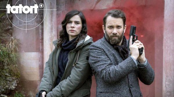 TATORT Der feine Geist - Nora Tschirner und Christian Ulmen