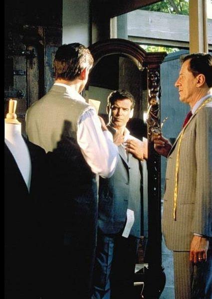 Der Schneider von Panama - Pierce Brosnan und Geoffrey Rush