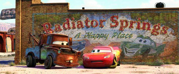 15 Jahre Cars - Radiator Springs ### Disney/Pixar