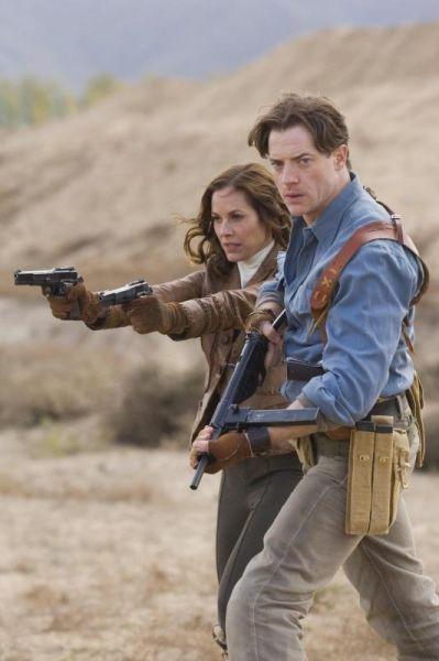 Maria Bello und Brendan Fraser in 'Die Mumie 3...isers'