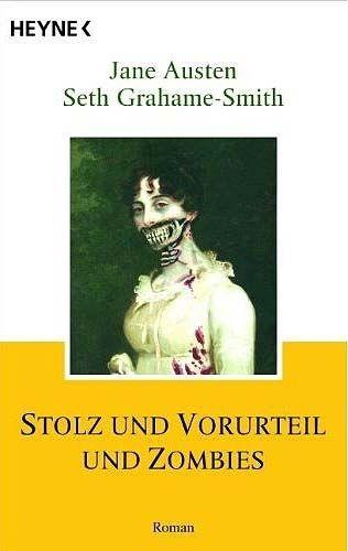'Stolz und Vorurteil und Zombies', Buchcover