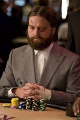 Zach Galifianakis in 'Hangover'