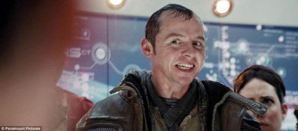 Simon Pegg in 'Star Trek'