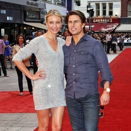 Cameron Diaz und Tom Cruise
